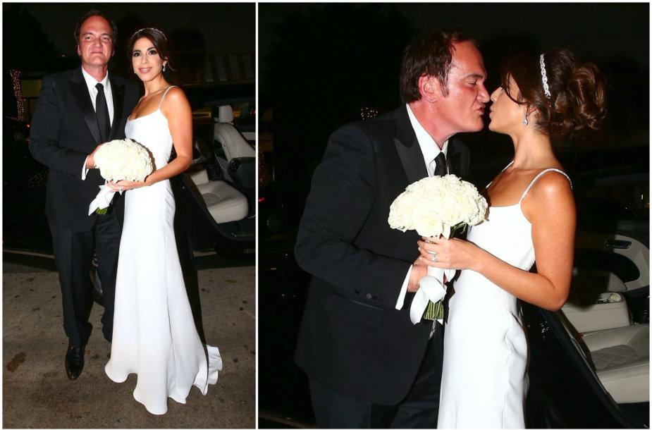 Quentinas Tarantino ir Daniella Pick