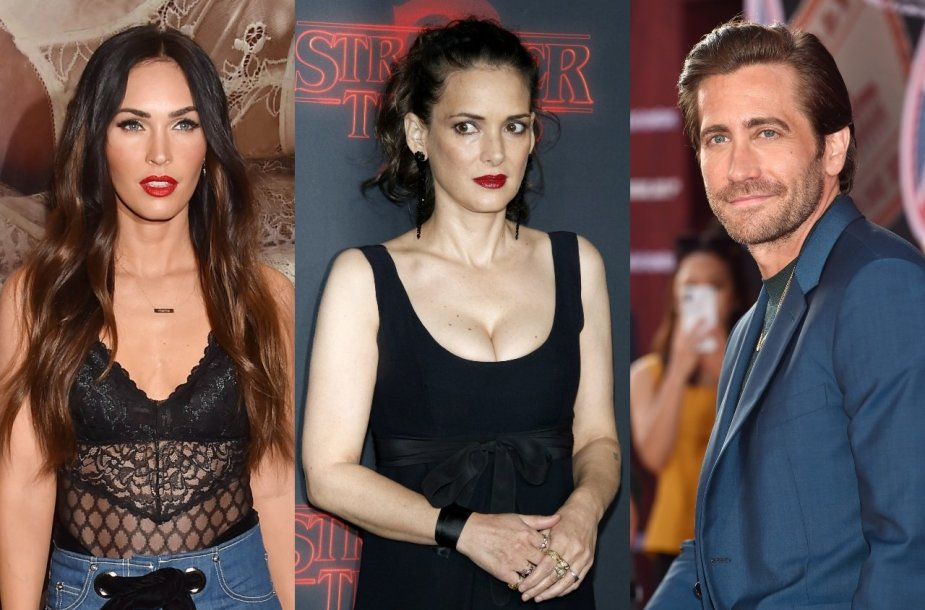 Megan Fox, Winona Ryder, Jake'as Gyllenhaalas