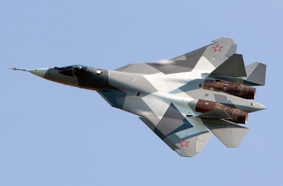 Sukhoi Su-57 PAK-FA naikintuvas
