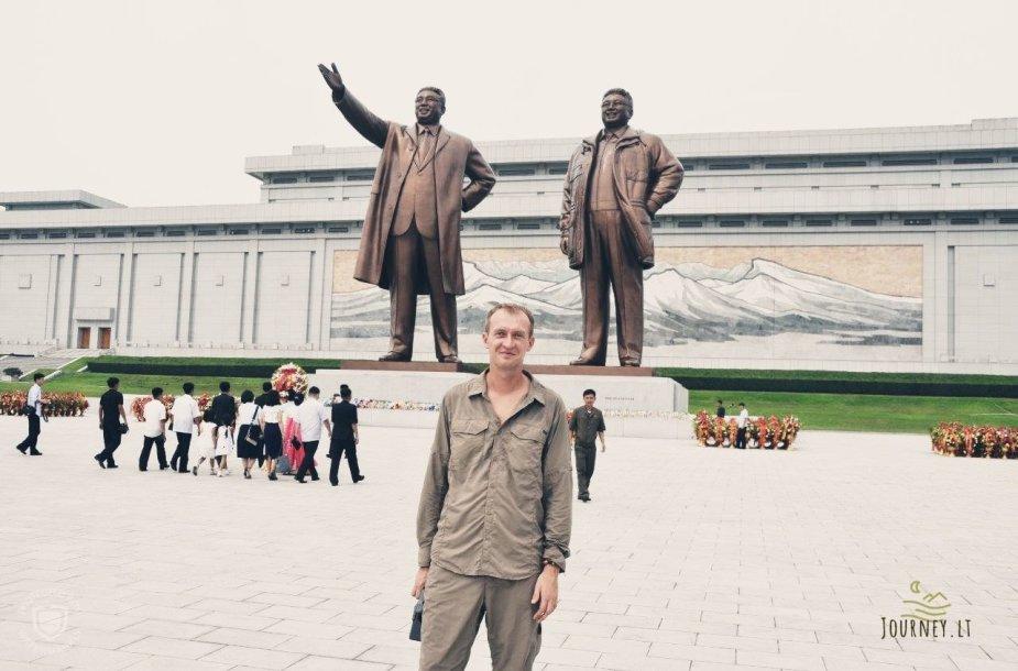 Algirdo kelionė Šiaurės Korėjoje