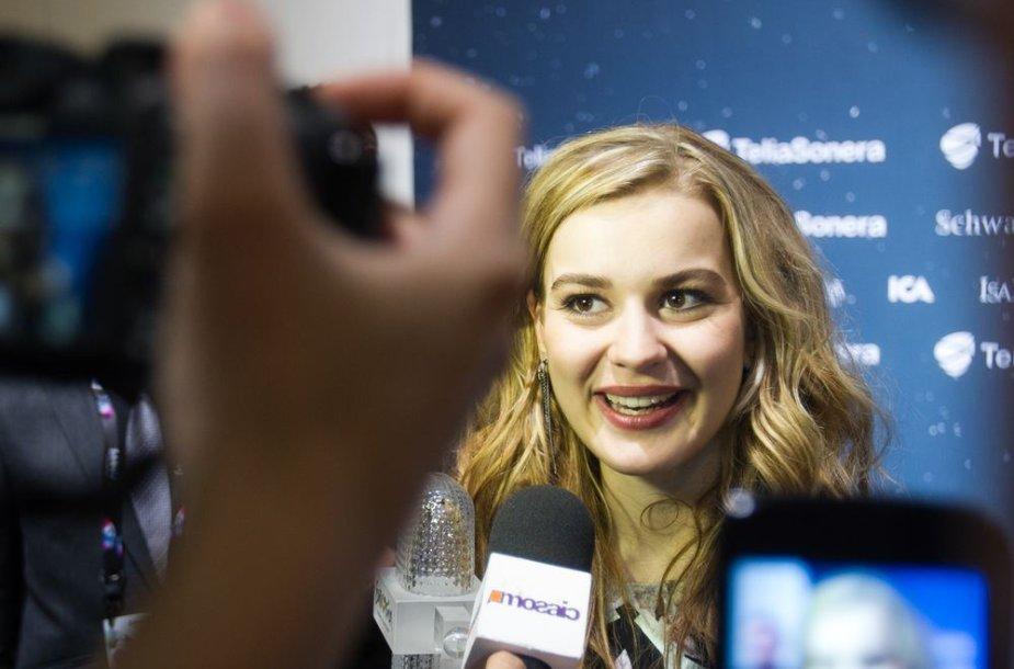 """""""Eurovizijos 2013"""" nugalėtoja danė Emmelie"""