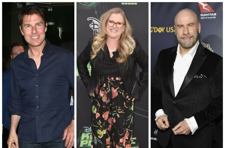 Tomas Cruise'as, Nancy Cartwright, Johnas Travolta