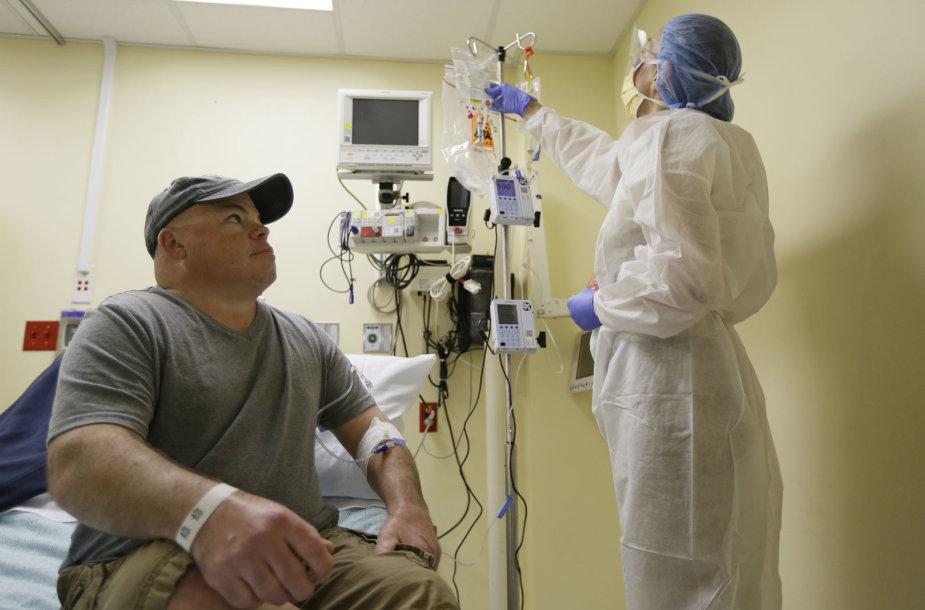 Pirmasis istorinės genų terapijos procedūrą patyręs pacientas – Brianas Madeuxas