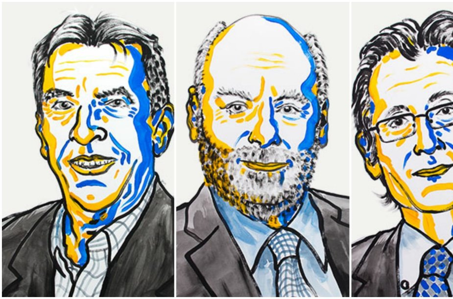 Stokholme skelbiami chemijos Nobelio premijos laureatai
