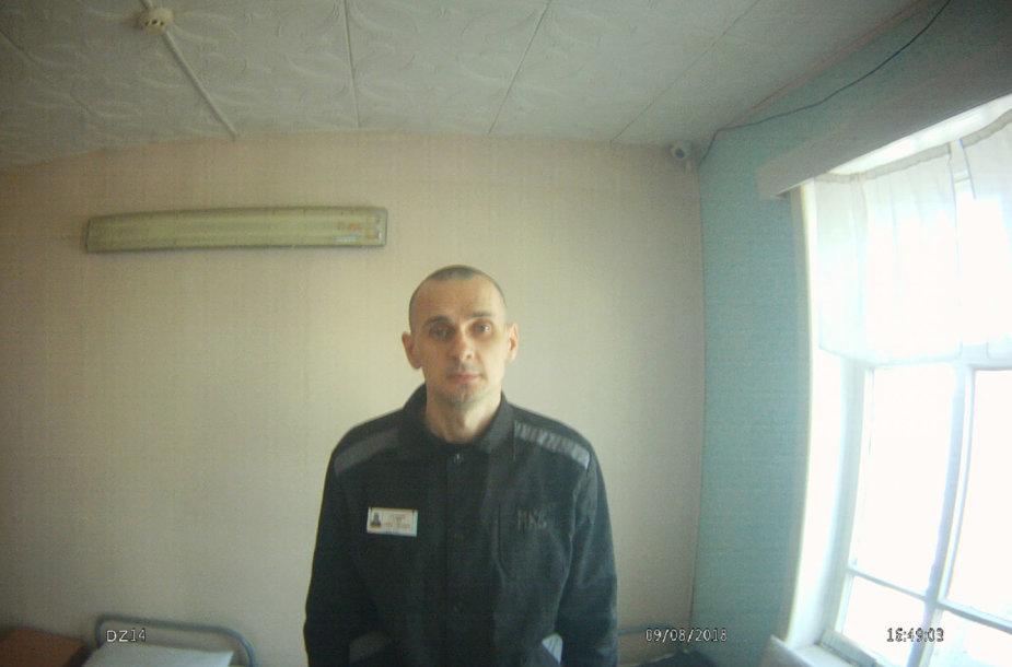 Olegas Sencovas kolonijoje