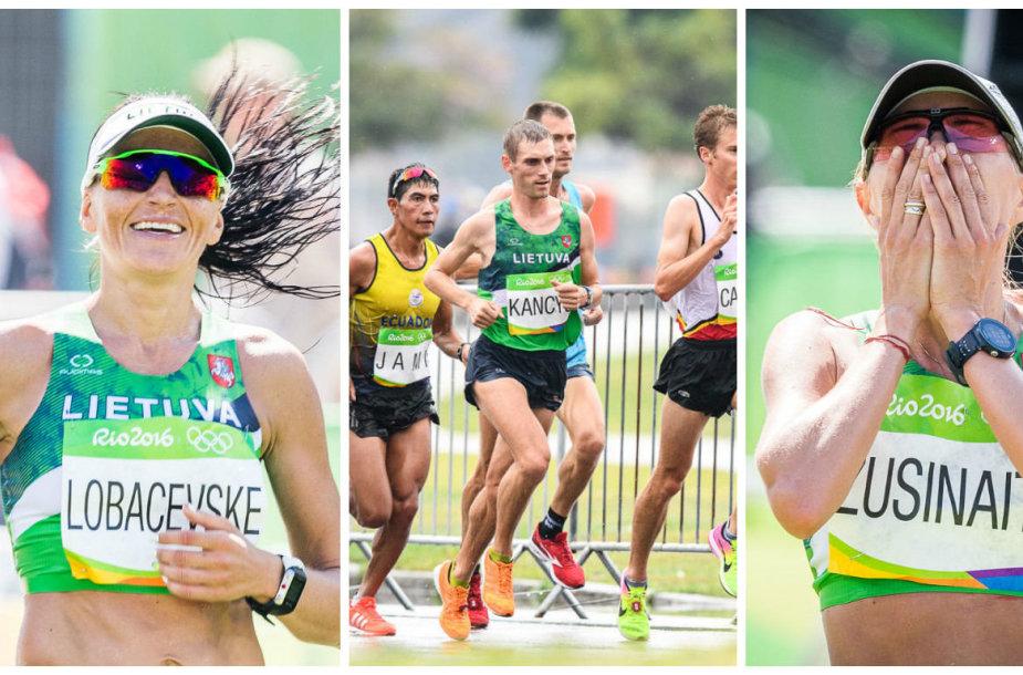 """""""Rio 2016"""" maratonas"""