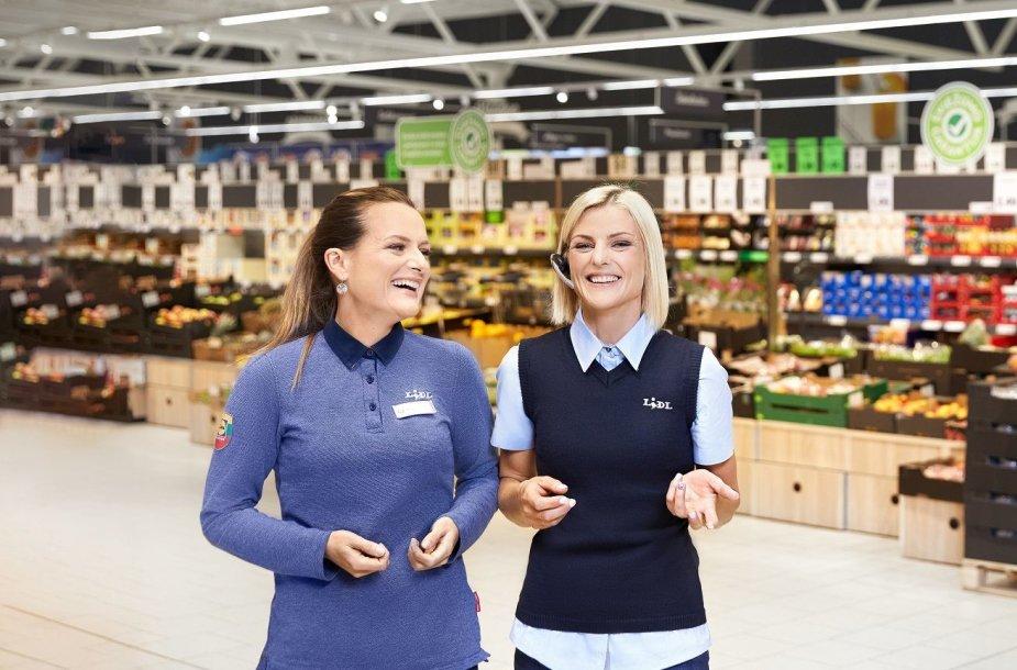 """""""Lidl"""" nuo kovo 1 d. didins atlyginimus parduotuvių darbuotojams: kils nepriklausomai nuo užimamų pareigų"""