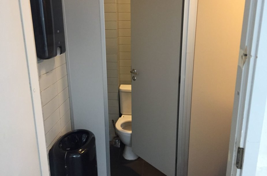 Verslo centro Vilniuje tualetai
