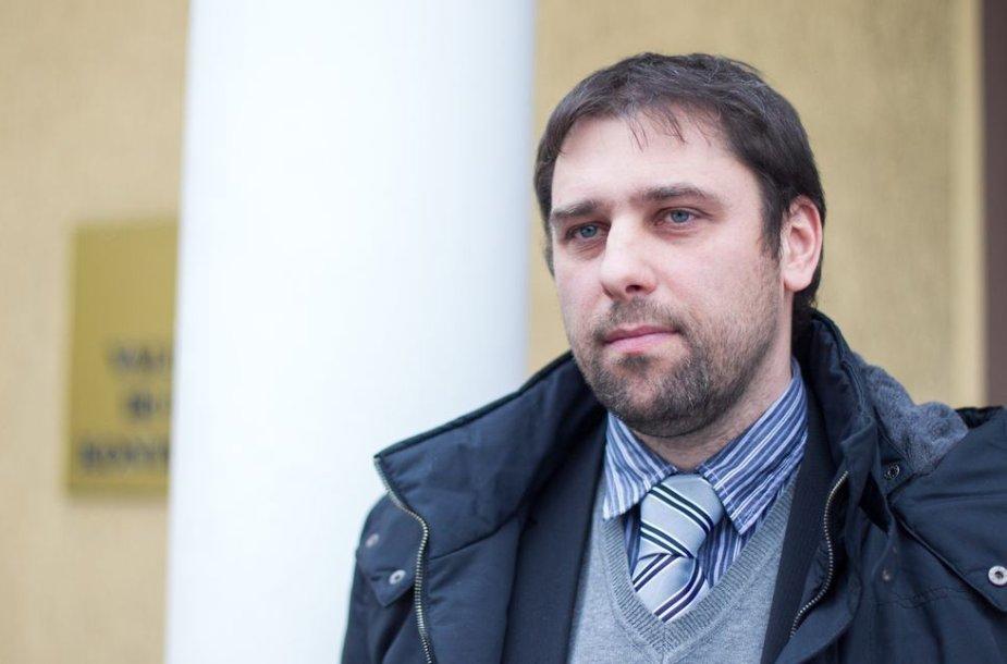 VKEKK Dujų ir elektros departamento direktorius Renatas Pocius