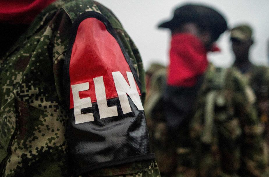 Kolumbijos ELN sukilėliai