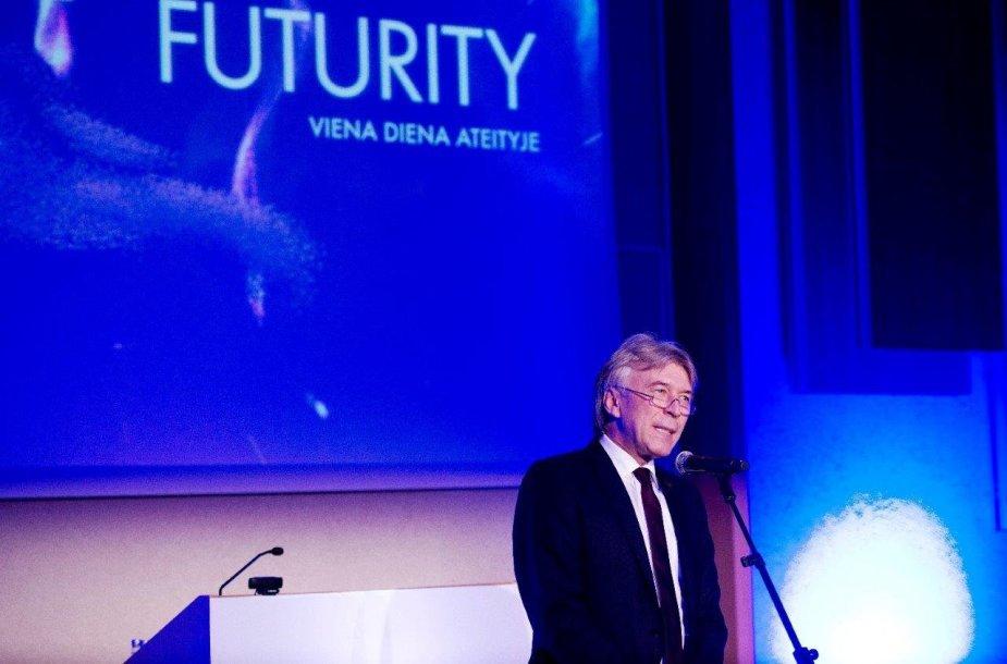 """Pirmoji Lietuvoje ateities konferencija """"ISM FUTURITY"""". Organizatorių nuotr."""