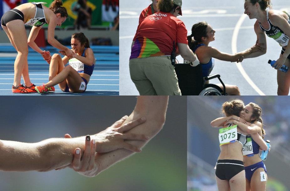 Garbingas olimpiečių pasirodymas