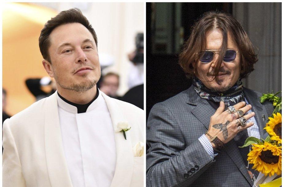 Elonas Muskas, Johnny Deppas
