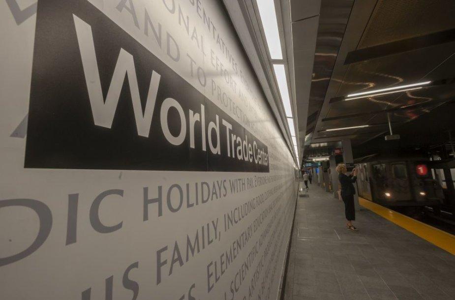 "Niujorke vėl atidaryta ""WTC Cortlandt"" metro stotis"