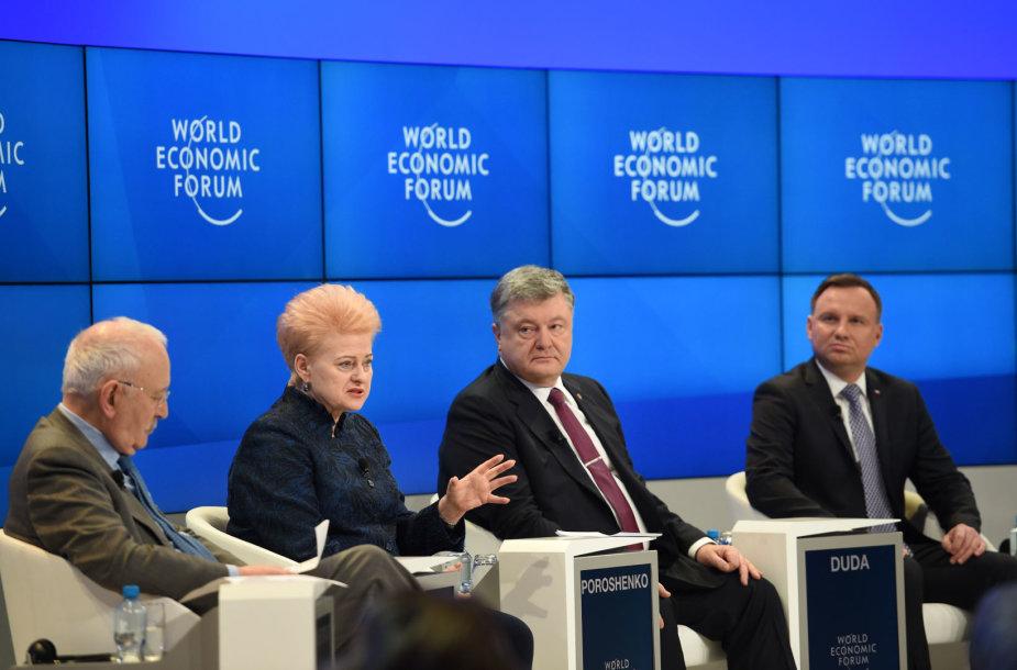 Dalia Grybauskaitė Davose