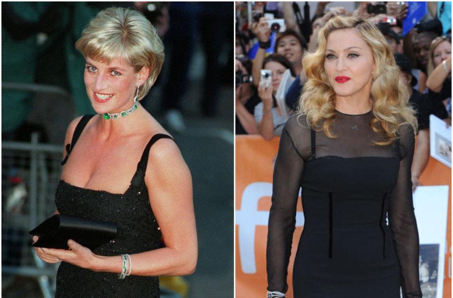 Princesė Diana, Madonna