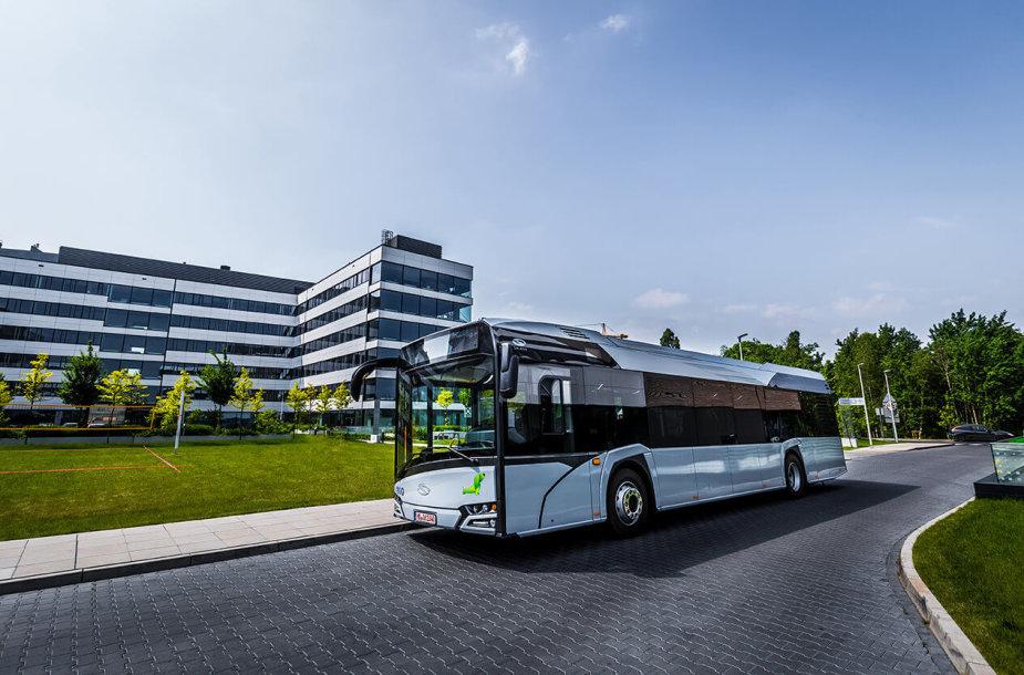 """""""Vilniaus viešasis transportas"""" perka naujus autobusus"""