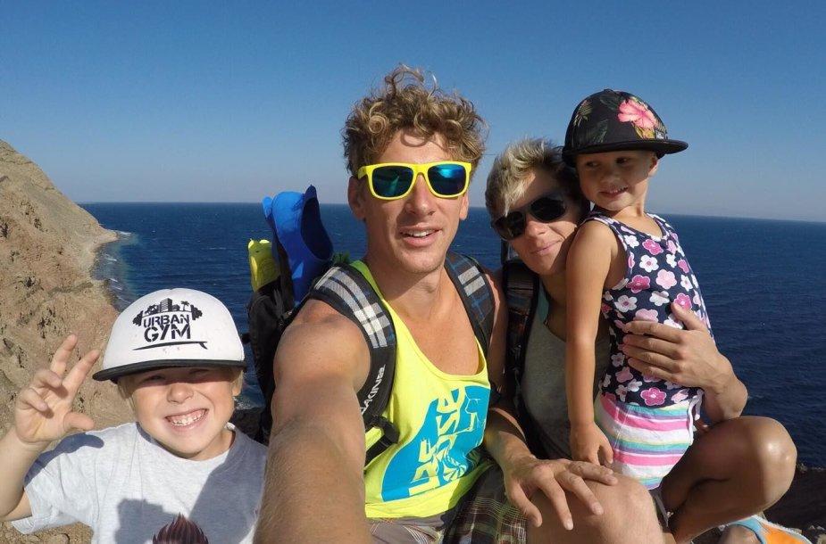 Nerijaus ir Kristinos šeima