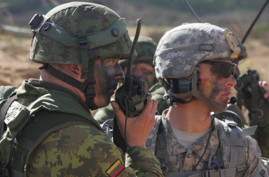 JAV kariai Rukloje