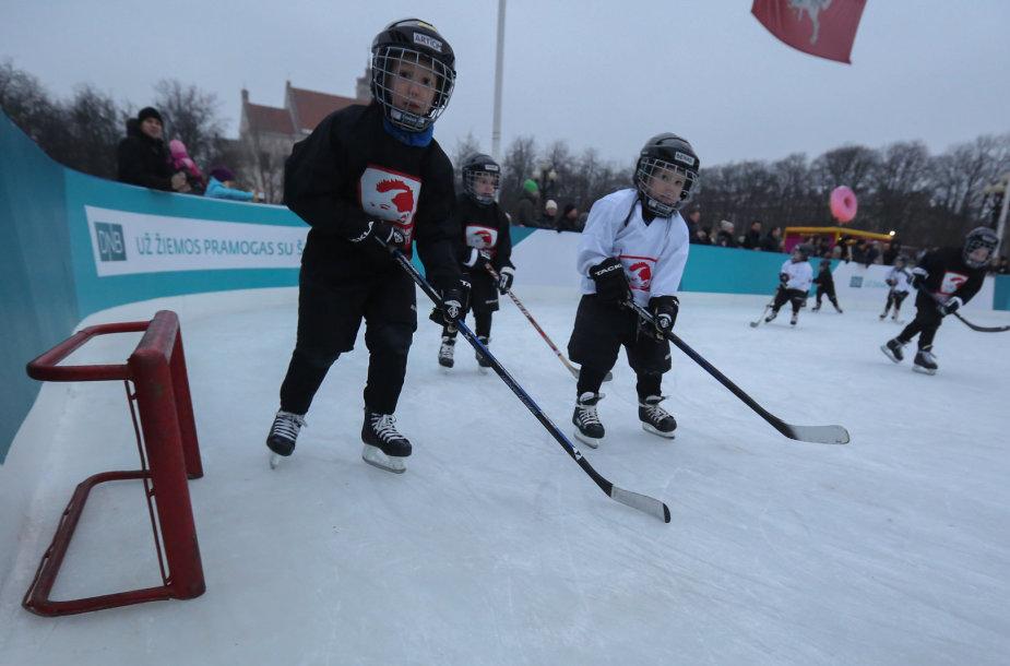 Ledo čiuožykla Lukiškių aikštėje