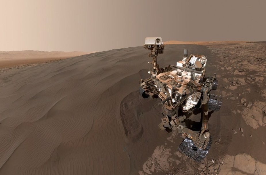 """Curiosity"" nufotografavo Marso kopas"