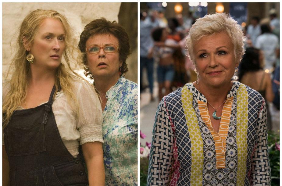 "Julie Walters filme ""Mamma Mia!"""
