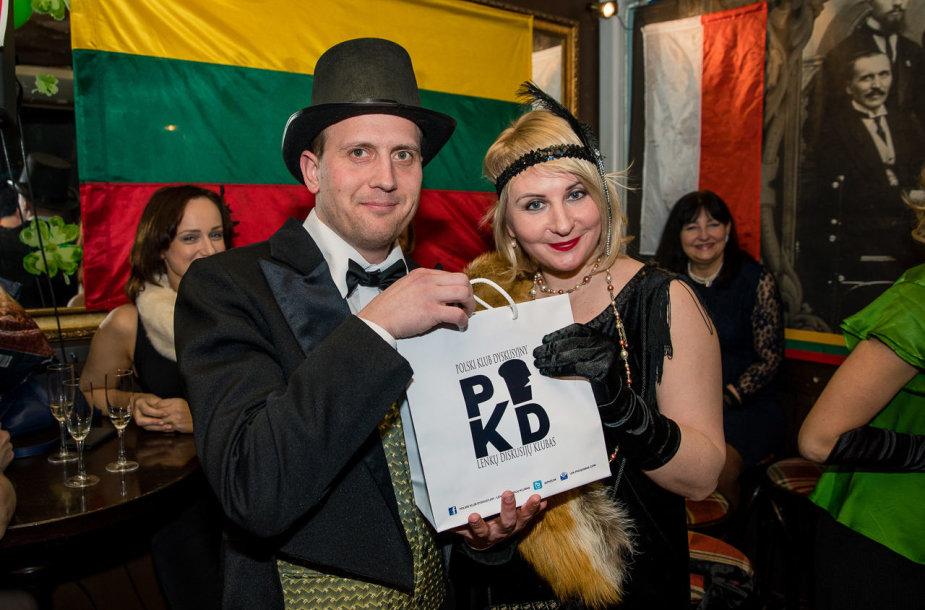 Lenkijos diskusijų klubo šventė Vasario 16-osios proga