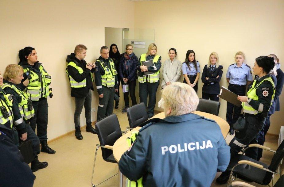 Kauno policija aplankė 174 smurtautojų šeimas