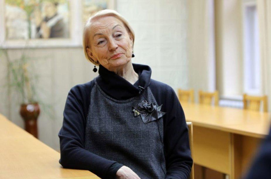 Muzikologė profesorė Daiva Kšanienė
