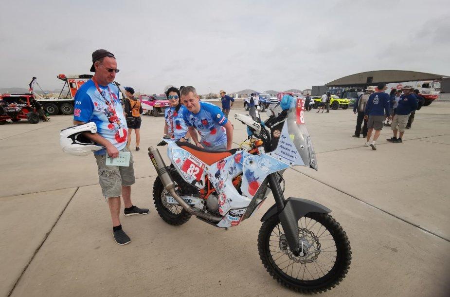 Dakaras 2019. Las Palmas karinė bazė Limoje, Balys Bardauskas