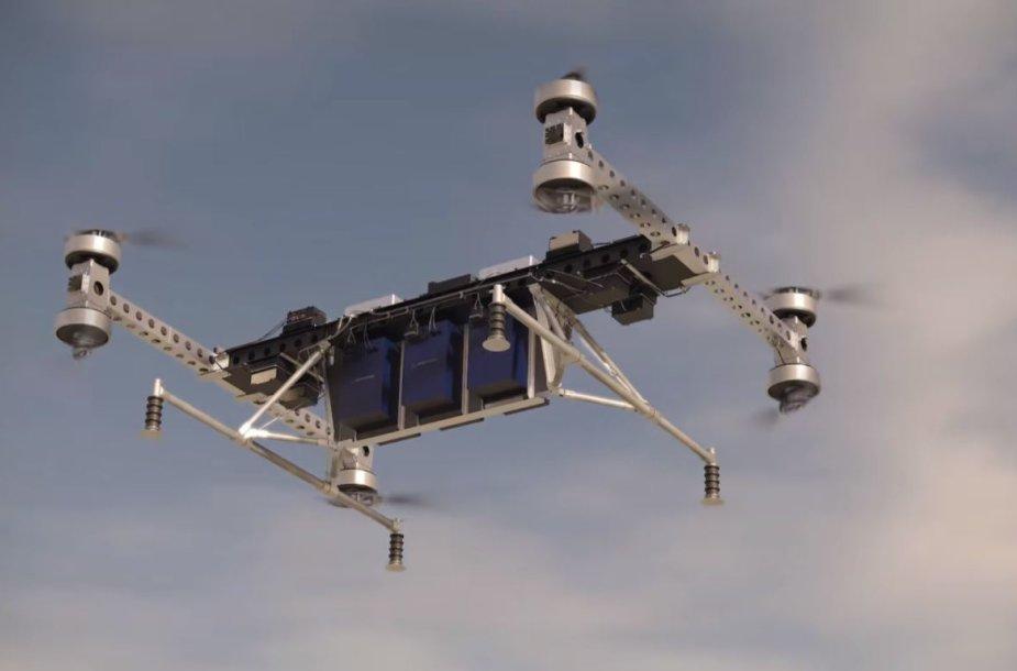 """""""Boeing"""" krovininės bepilotės skraidyklės projektas"""