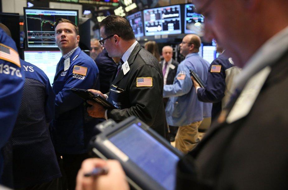 Neramumai pasaulio akcijų biržose