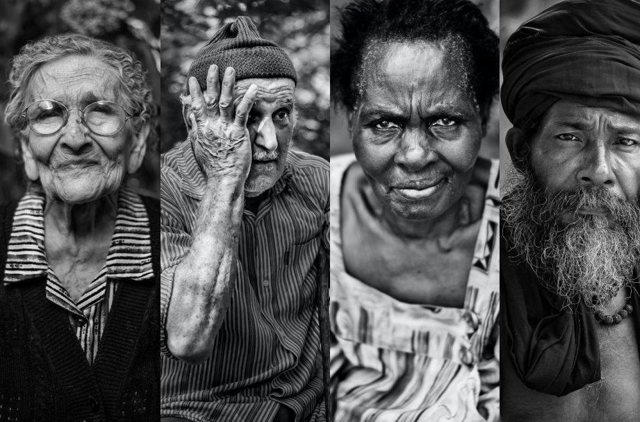 Žmonių portretai