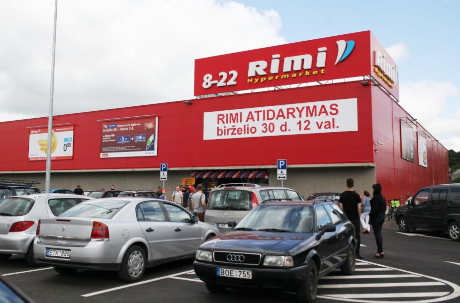 Raudondvaryje atidaryta jubiliejinė RIMI parduotuvė.