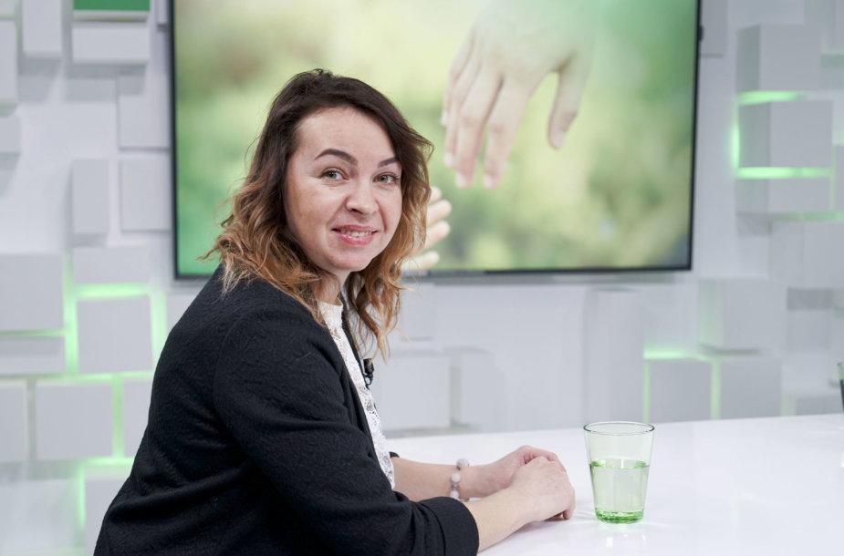 Įvaikinimo ir globos skyriaus vedėja Agnė Marčiukaitienė