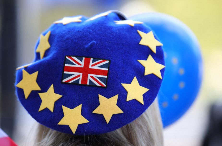"Eitynės prieš ""Brexit"" Londone"