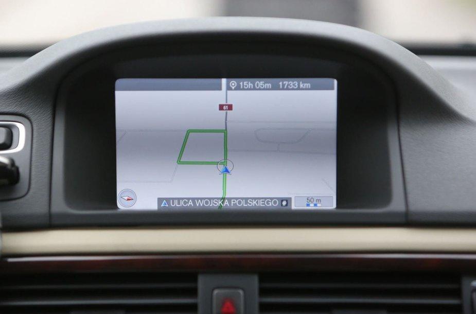 Automobilio navigacija