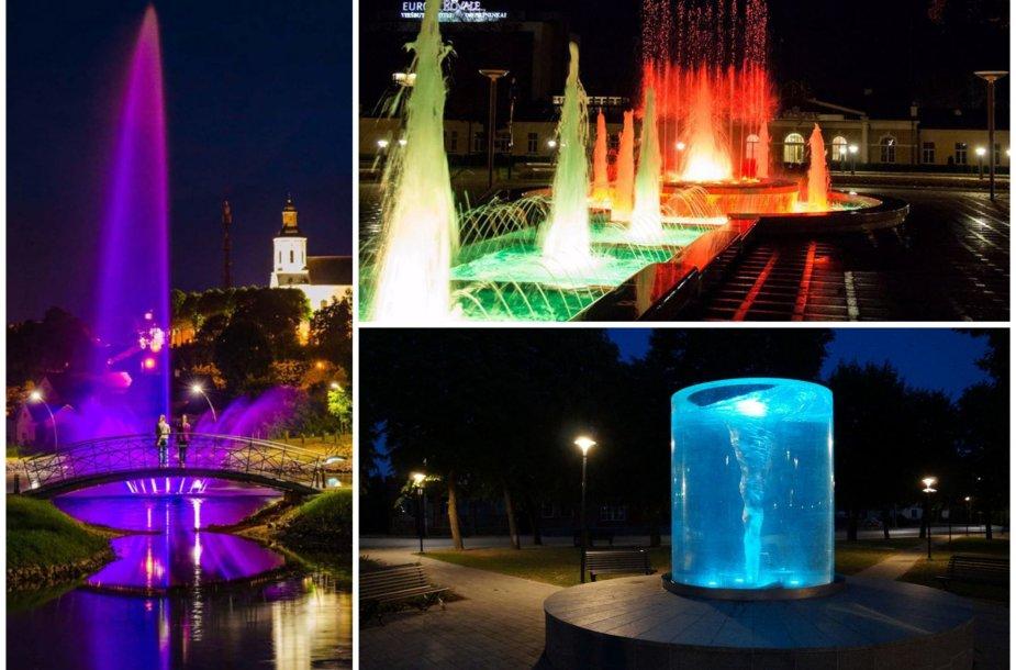 Išrinkti gražiausi fontanai Lietuvoje