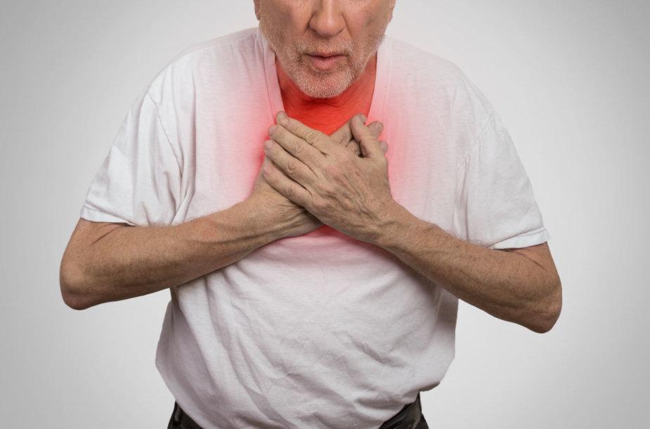 Lėtine obstrukcine plaučių liga (LOPL)