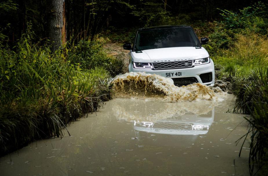 """Plug-in"" hibridas ""Range Rover Sport"""