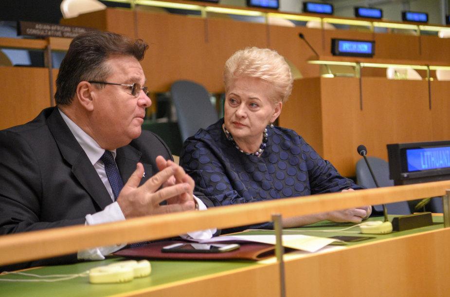 Prezidentė dalyvavo 73-uosiuose Jungtinių Tautų Generalinės Asamblėjos debatuose