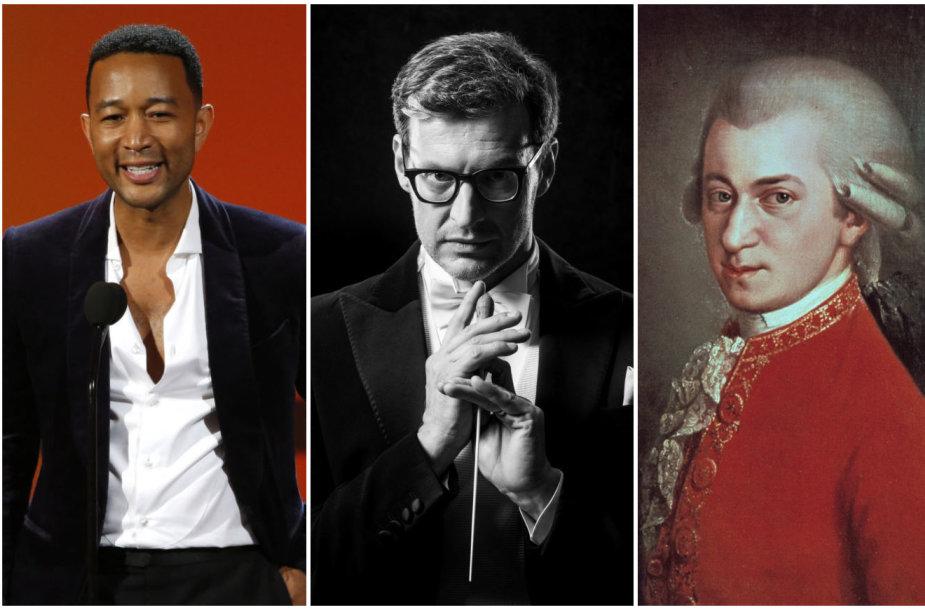 Johnas Legendas, Modestas Pitrėnas, Wolfgangas Amadeusas Mozartas