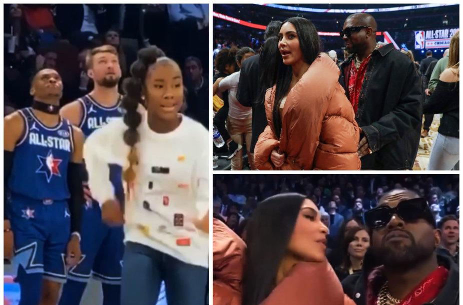 Domantas Sabonis, Kim Kardashian, Kanye Westas
