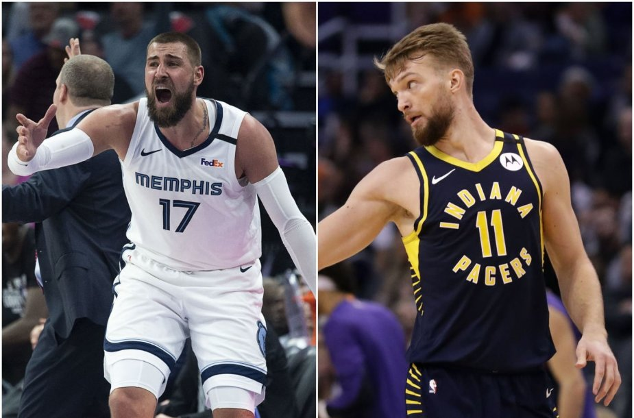 Jonas Valančiūnas ir Domantas Sabonis taip pat teks dalies pajamų, jei NBA sezonas nebus atnaujintas.