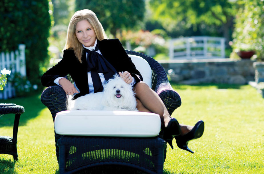 Barbra Streisand su augintine Samantha