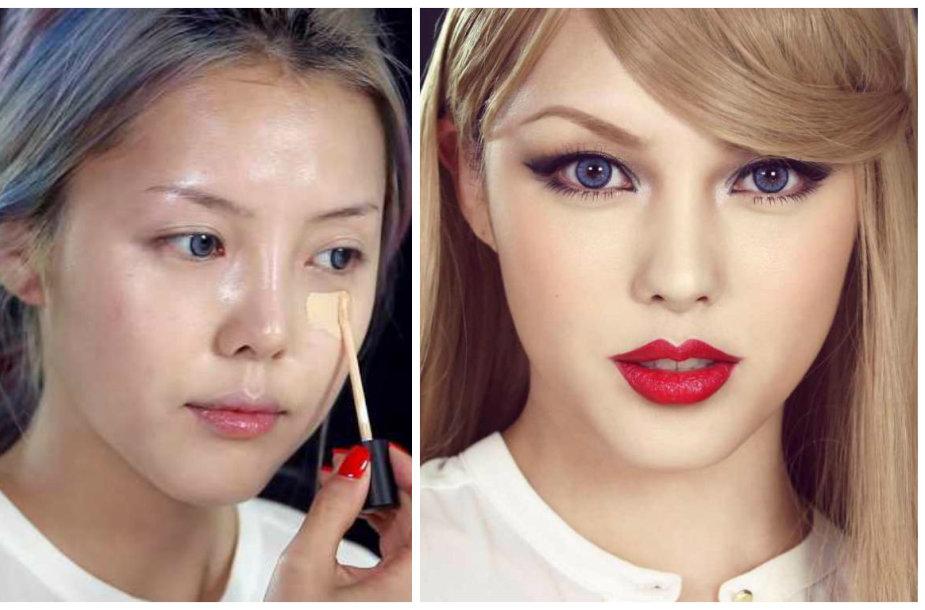 Taylor Swift įkvėptas makiažas