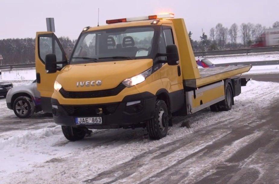 Techninės pagalbos automobilis