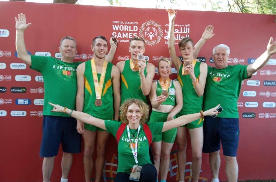 Specialiosiose žaidynėse lietuviai laimėjo 28 medalius, iš jų 16 aukso.
