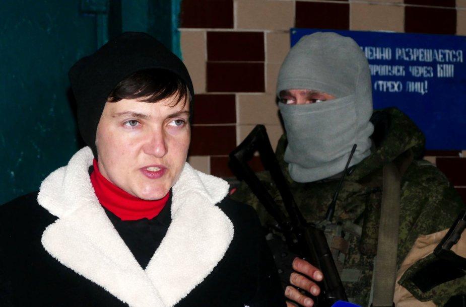 Nadija Savčenko Donbase