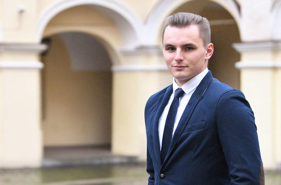 Vilniaus universiteto Teisės klinikos konsultantas Lukas Radzevičius